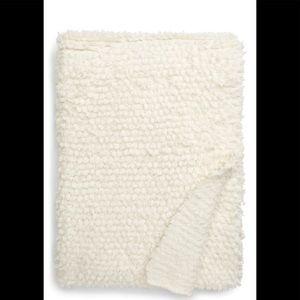 CozyChic Loop Fringe Throw Blanket BAREFOOT DREAMS